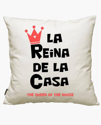 Fodera cuscino la regina della casa