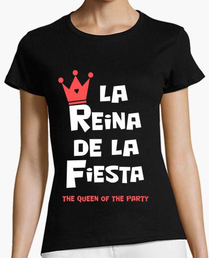 Camiseta La Reina de la Fiesta