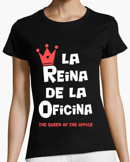 Camiseta La Reina de la Oficina
