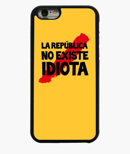 Funda iPhone 6 / 6S La república no existe Frase