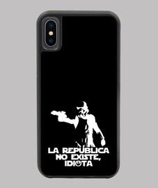 La república no existe, idiota - Funda iPhone