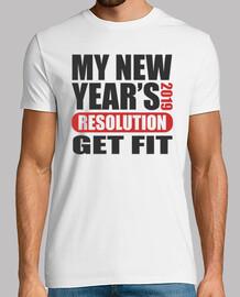La resolución de mi año nuevo 2019 se p