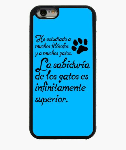 Funda iPhone 6 / 6S La sabiduría de los gatos