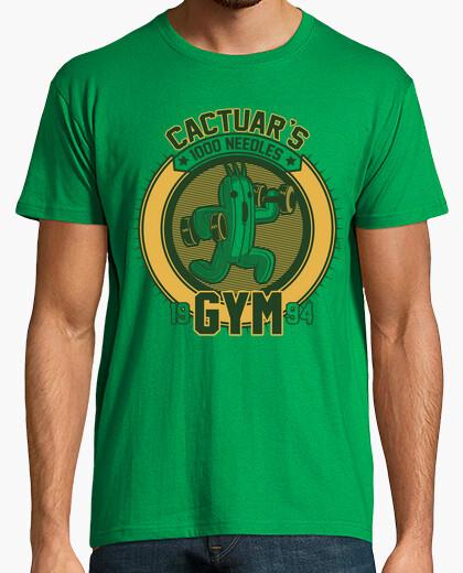 Tee-shirt La salle de sport cactuar