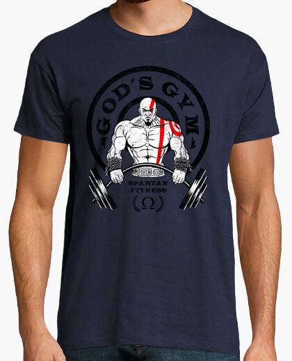 Tee-shirt la salle de sport de dieu