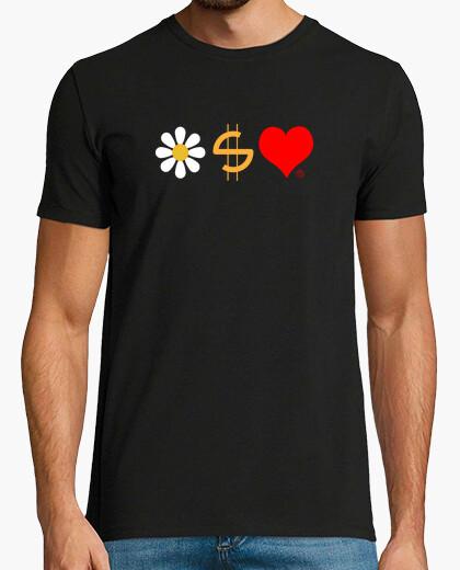 Tee-shirt la santé, l'argent et l'amour