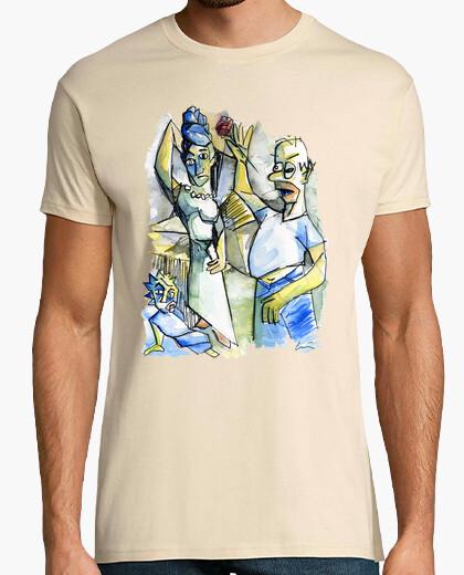 T-shirt la signorina d'simpson