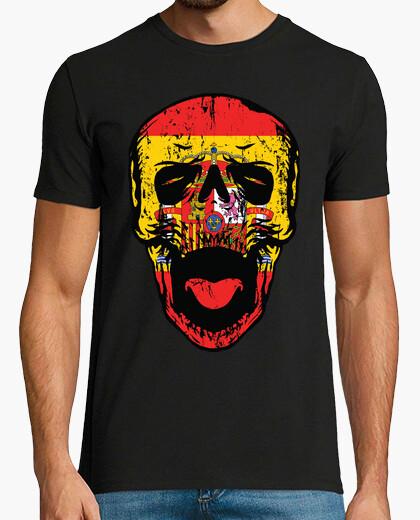 T-shirt la Spagna fino alla morte