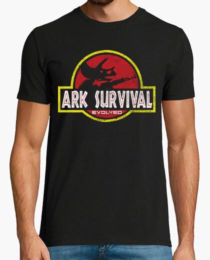 Camiseta la supervivencia arca evolucionó