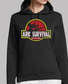 la supervivencia arca evolucionó