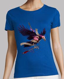 la t-shirt donna zombie corvo