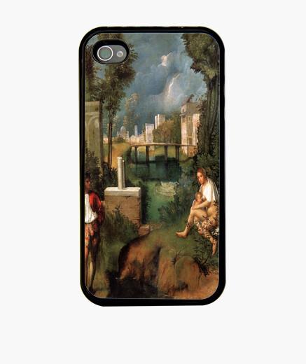 Funda iPhone La tempestad - Giorgione
