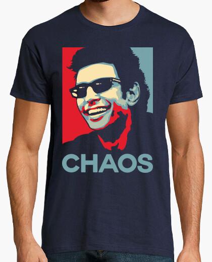 Camiseta la teoría del caos ian malcolm