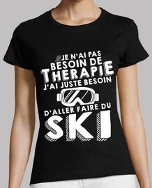 la terapia de esquí