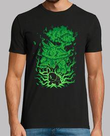la tortue d'herbe à l'intérieur - chemise homme