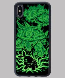 la tortue d'herbe à l'intérieur - étui iphone xs max