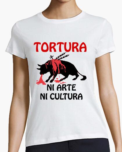 T-shirt la tortura o l'arte o la cultura