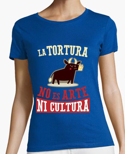 Tee-shirt la torture est pas de l'art ou de la culture