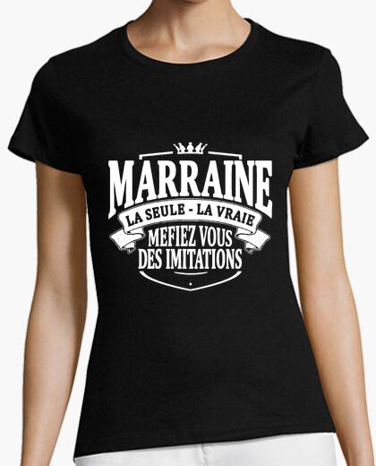 Camiseta la única verdadera madrina