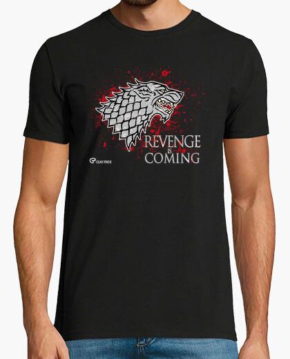 T-shirt la vendetta è coming