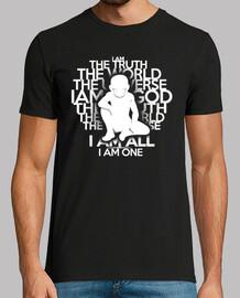 la verdad - versión en blanco - hombre camiseta