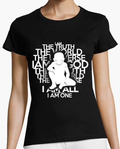 La verdad - versión en blanco - mujer camiseta
