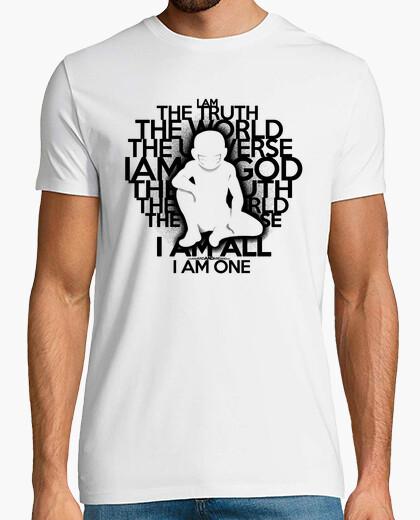 La verdad - versión en negro - hombre camiseta