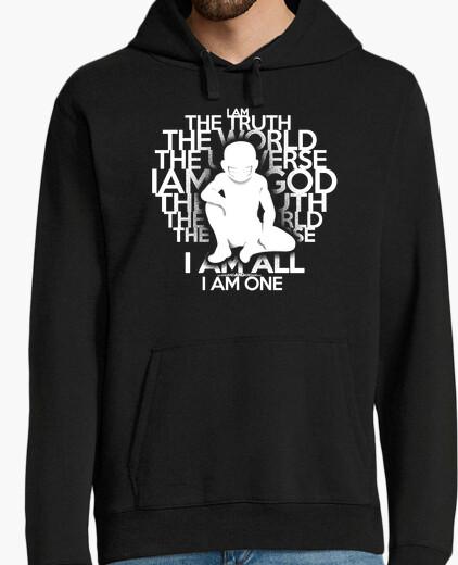 Felpa la verità - versione bianca - hoodie