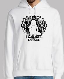 la verità - versione nera - hoodie