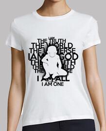 la verità - versione nera - t-shirt donna