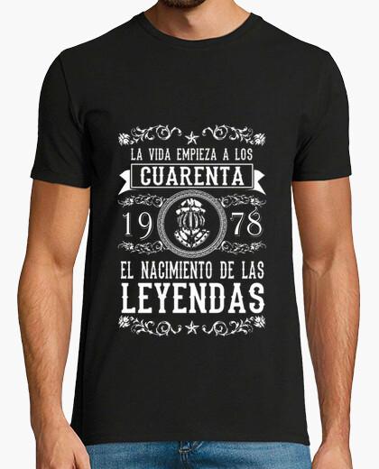 Camiseta La vida a los Cuarenta 78 chico