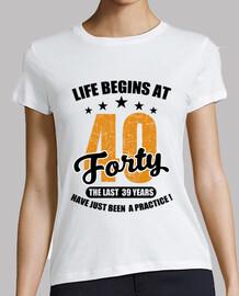 la vida comienza a los cuarenta