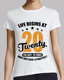 la vida comienza a los veinte