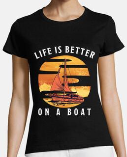 la vida es mejor en un barco de vela re