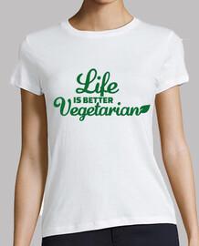 la vida es mejor vegetariana