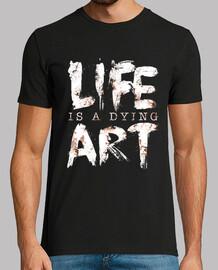 la vida es un arte en extinción