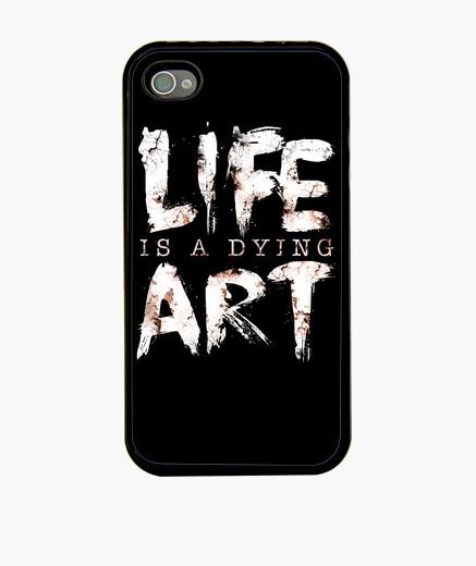 Funda iPhone la vida es un arte en extinción