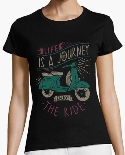 Camiseta la vida es un viaje disfruta el viaje
