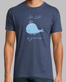 la vida marina es preciosa - ballena