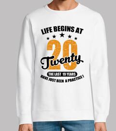 la vie commence à vingt ans