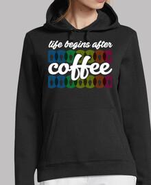 la vie commence après le coffee (noir)