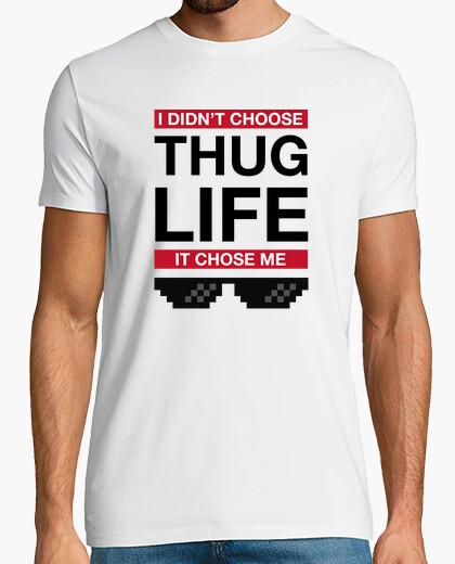 Tee-shirt la vie de gangster m'a choisi