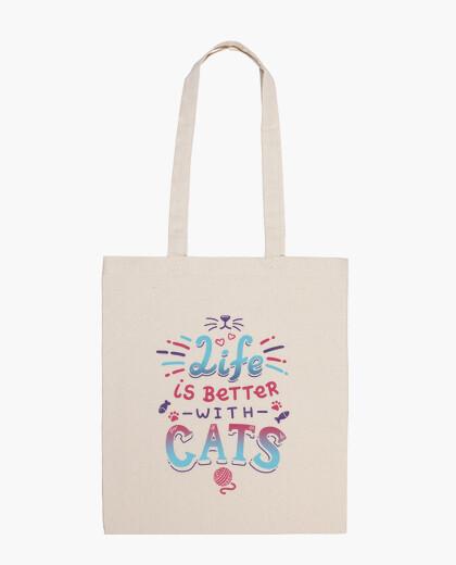 Borsa la vita è better con i cats