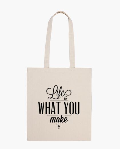 Borsa la vita è what ypu make it bag