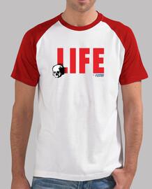 la vita for sempre, l'uomo, lo stile baseball, bianca e rosso