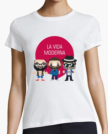 T-shirt la vita pop moderno