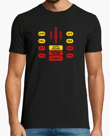 Tee-shirt La voiture fantastique - L'incroyable voiture  - Michael Knight