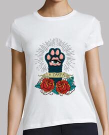 La Zarpa | Camiseta blanca para ella