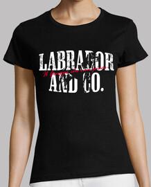 labrador & co.® - women's t-shirt