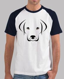 Labrador con cara adorable